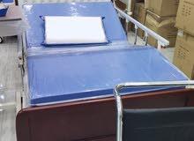 سرير طبى عرض115x200cm بإطار خشبى فخم كهربائي اربع حركات مواتير إنجليزية ضمان ثلا