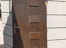 أبواب خشب أم دي أف 3 أبواب