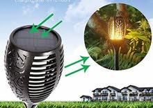 LED Solar Torch Light – عمود انارة بالطاقة الشمسية