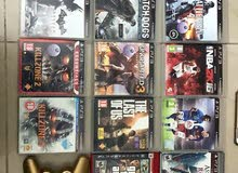 ps3slim+2controller+cables+games+Sonybag
