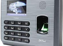 ساعة مراقبة الدوام عن طريق بصمة الوجه او الاصبع  K40 TX628 IFACE302 IFACE702 ICLOCK360  ZKTECO