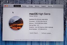Apple Macbook Pro 13.3 , Mid 2012