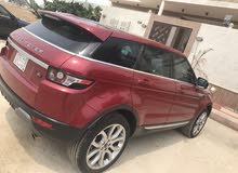 For sale 2012 Red Range Rover Evoque