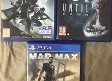 destiny & mad max & until dawn