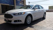 White Ford Fusion 2015 for sale