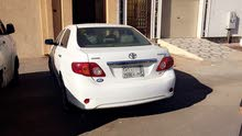 For sale 2010 White Corolla