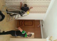 دهان وديكور سرعه واتقان في العمل تركيب ورق جدران