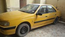 بيجو بارص اصفر 2010 للبيع او المراوس