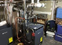 تنظيف ومعايرة البويلر للتدفئة المركزية