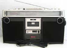 مسجل راديو ماركة ناشونال ياباني تاريخ الصنع عام 73 بحالة ممتازة جدا جدا