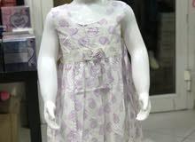 فستان بناتي قياس من 2 الى 6 سنوات