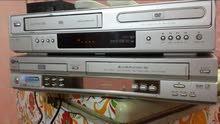 جهازين مزدوج كاسيت فيديو VHS و DVD ماركة LG
