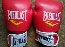 كفوف ملاكمة و باندج everlast