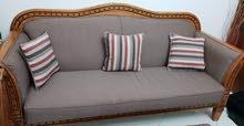sofa set (3-2-1-1)&table كنب