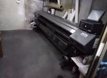 ماكينة طباعة بسعر محروق
