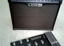 Line 6 Spider IV 75 guitar amplifier with Shortboard MkII Foot Controller