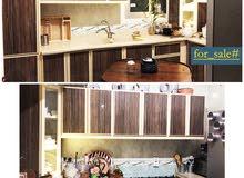 مطبخ L +طاولة و 4 مقاعد