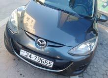 Mazda 2 2014 For sale - Grey color