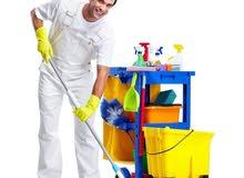 مطلوب عمال لشركة تنظيف ذو خبرة