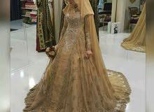 فستان زفاف للاجار او البيع