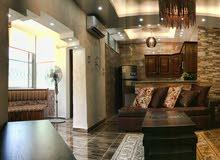 شقة مفروشة فاخرة 80م للإيجار شارع المدينة المنورة