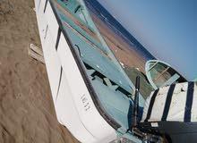 قارب 23 مع مكينه 60 موديل 2013 استخدام بسيط