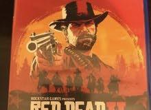 ps4 لعبه Red dead redimption 2