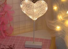 heart table lamp ابجورة