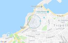 ارض للبيع فشارع المعري خلف برج طرابلس