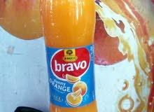عصير برافو كمية محدودة (اربعه نكهات)