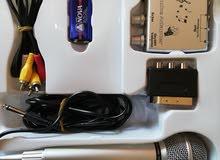 جهاز كاريوكا تحكم فوليوم وايكو صغيرمع مايك