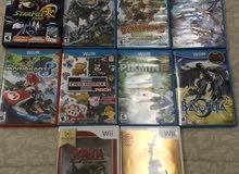 ألعاب WiiU  بحالة ممتازة للبيع