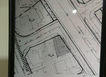 قطعة ارض 3 واجهات تصنيف س6 مساحة .373.590متر