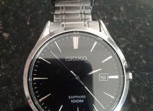ساعة( SEIKO (SAPPHIRE 100M