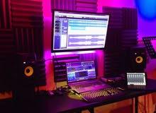 الحق عروض كورسات التوزيع الموسيقي والهندسه الصوتيه داخل الاستوديو