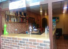 محل قهوه للبيع مع كامل اغراض المحل