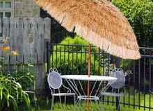 Hawaiian Tiki Umbrella, Pool Patio Beach Umbrella