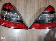Mercedes s class headlight and tail light