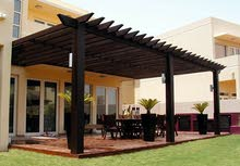 Wooden pergola available for sale