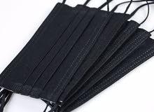 3 Ply Face Mask Black
