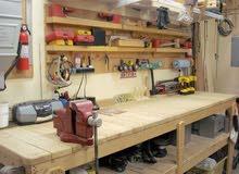 فني أثاث منزلي و مكتبي طلاء و تجديد و توفير قطع الغيار (ورشة بأحدث المعدات)