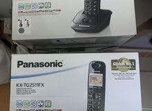 2 تليفون لاسلكي باناسونيك موديل  KX-TG2511FX