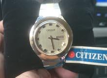 ساعة سيتيزن اصلية بحالة ممتازة