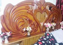 للبيع غرفه نوم خشب اصلي كامله مع ملحقاتها السعر 600 للاستفسار خاص او الاتصال 07728466353