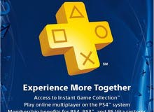 PlayStation plus card for 3 months