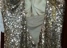 فستان سهرة للبيع شبه جديد