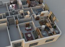 apartment Third Floor in Amman for sale - Abu Nsair