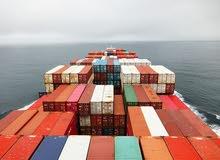 خدمات النقل البحري والبري والجوي