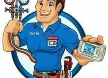 تركيب وفك وصيانة المكيفات وتعبئة الغاز