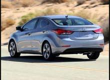Hyundai Avante 2013 For Rent